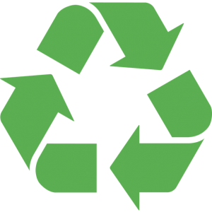 All of Our Products Are Recyclable